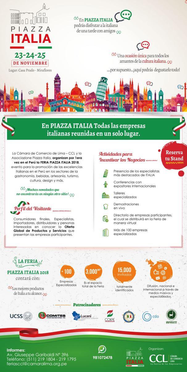 """""""Piazza Italia"""" a novembre"""