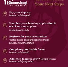 New Student Checklist