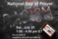 SEJ UMM National Day of Prayer