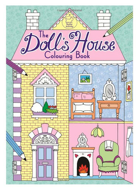 Dolls House Colouring Book