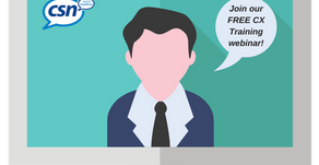 DON'T MISS IT! Our next live and interactive Customer Experience Webinar is next week and it&#39