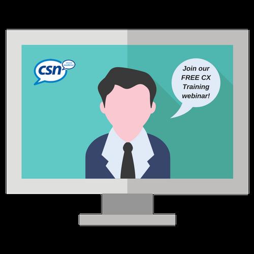 CSN Free Customer Experience Training Webinar