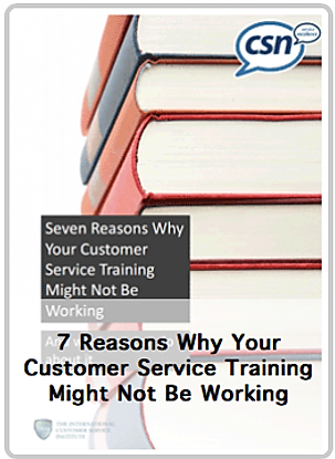 CSN Customer Service Training whitepaper