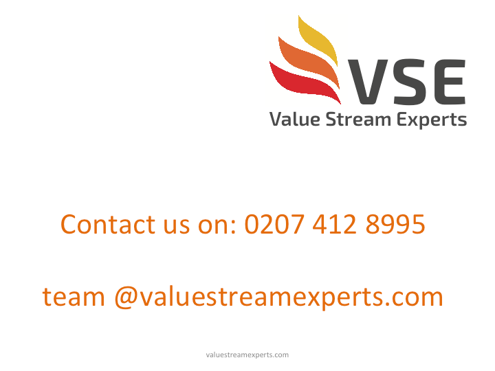 VALUE STREAM EXPERTS CONTACT DETAILS