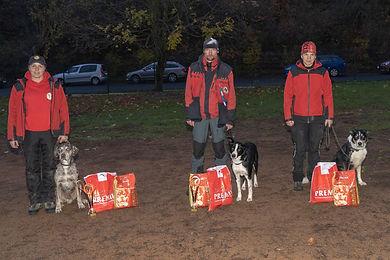 Sponzorig soutěže záchranářských psů