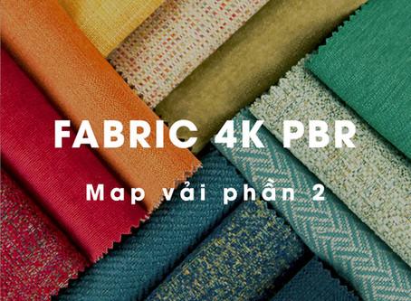 Map vải và da 4K PBR