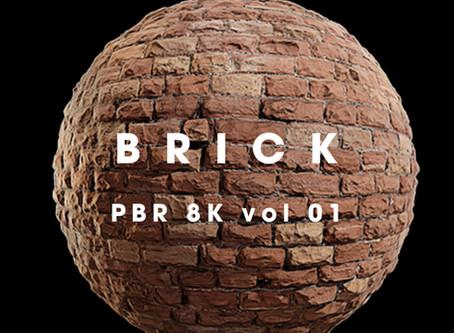 BRICK PBR 8K vol 1