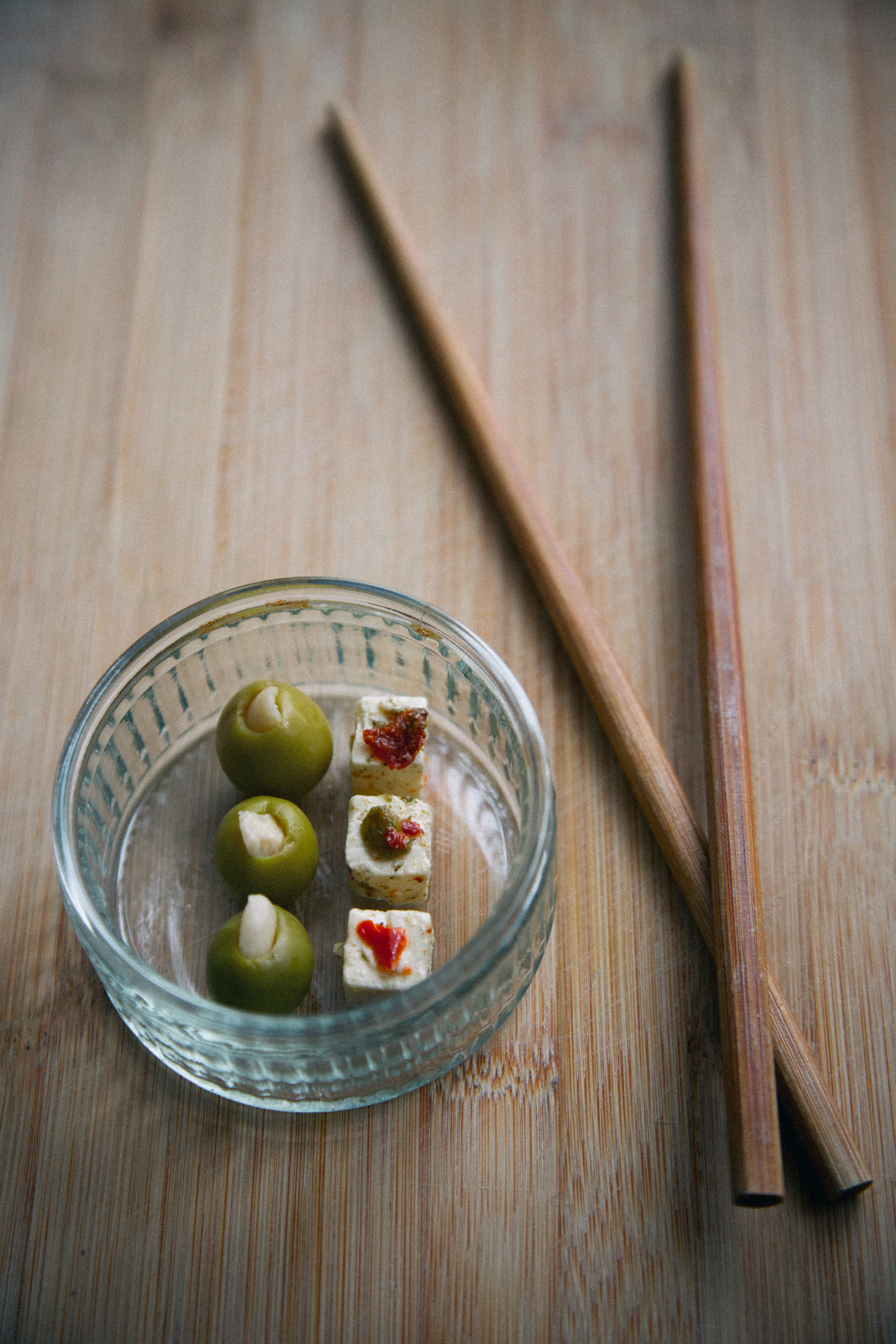 OLIVES AND FETA
