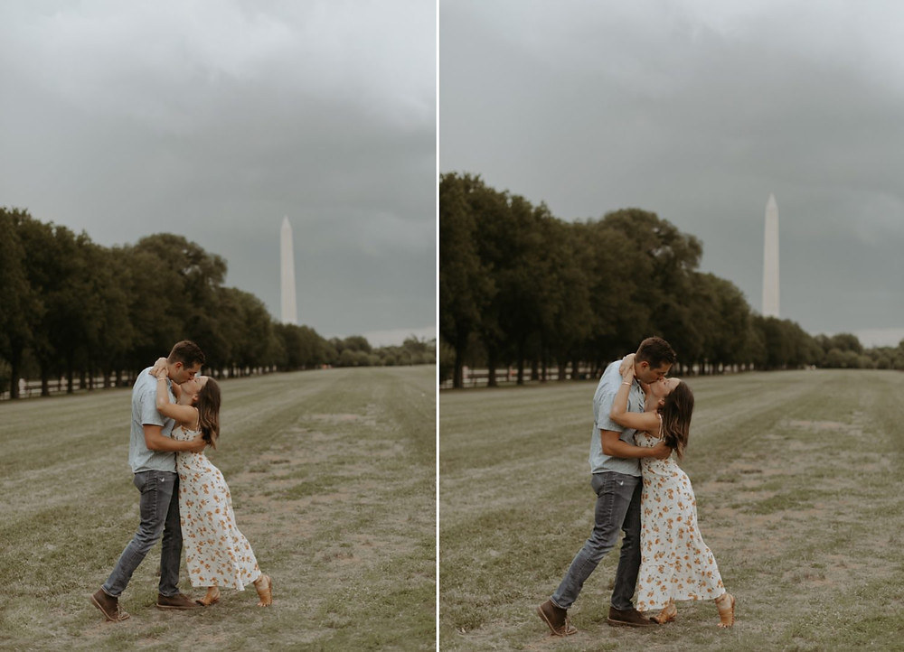 Washington dc couples session