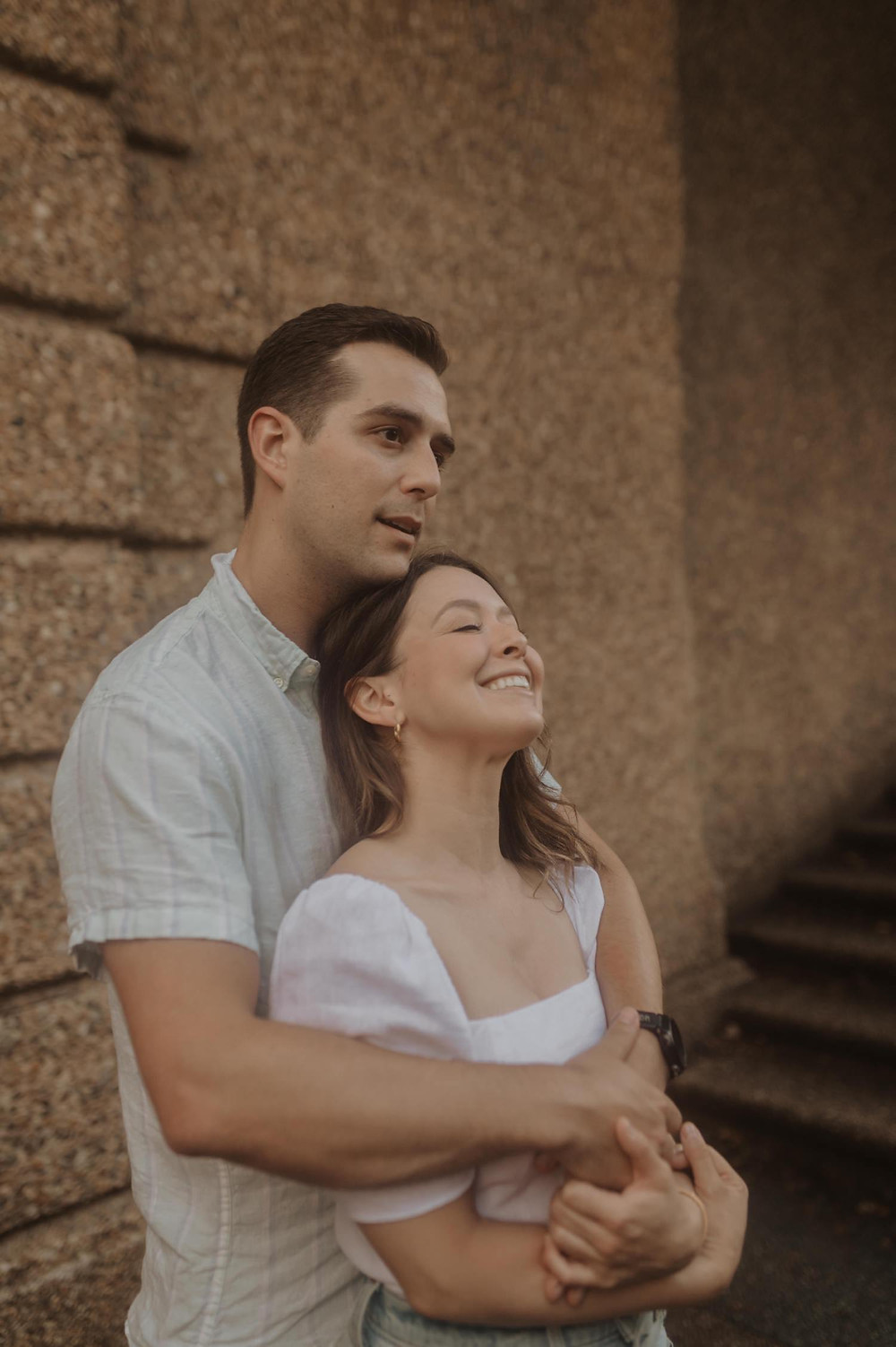 Meridian hill park Washington dc couples session