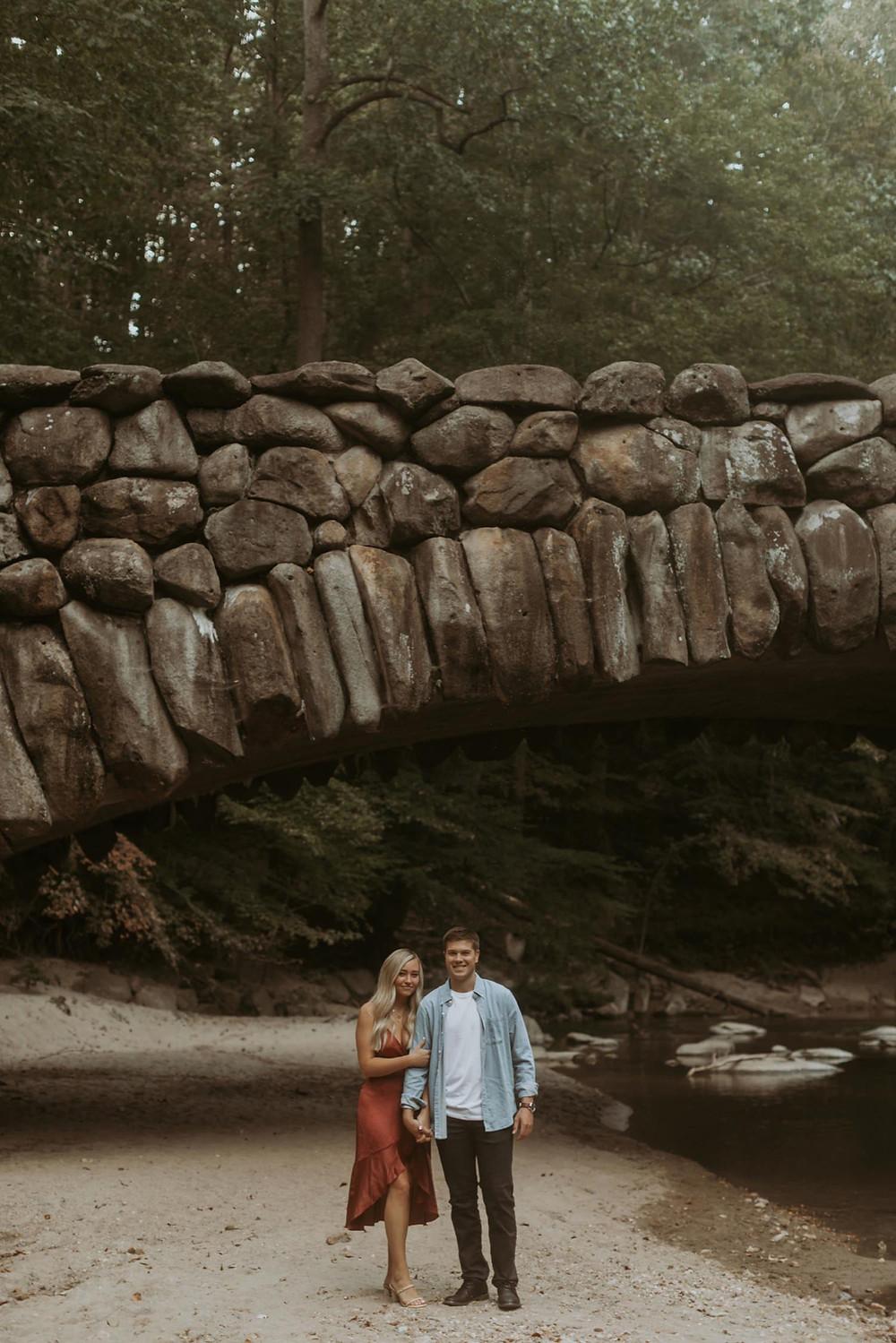 Rock creek park Washington dc engagement session