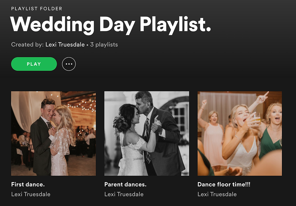 wedding day songs