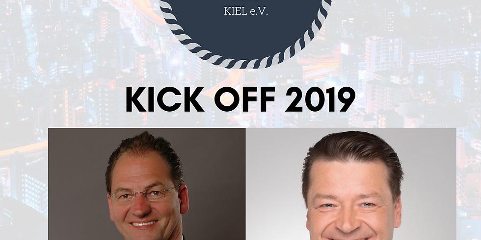 KICK OFF 2019 mit Holger Scholze und Martin Wilhelm