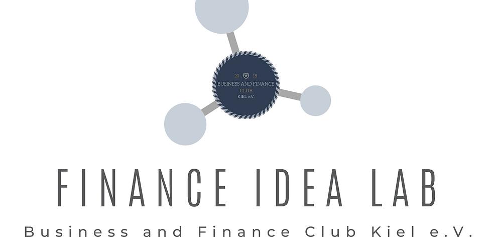 Finance Idea Lab - KICK OFF