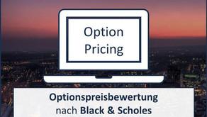 """""""Fairer Optionspreis nach Black & Scholes"""" - Webinar / Juni 2020"""
