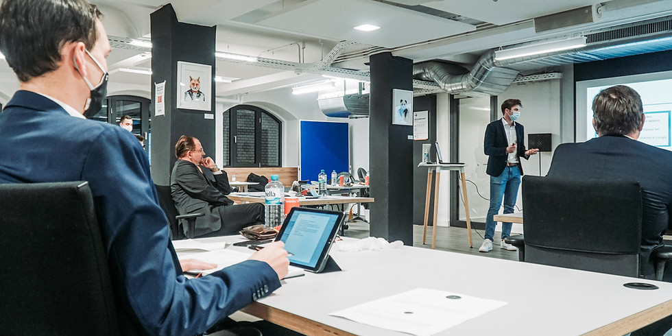 Kieler Vorentscheid der BVH Stock Pitch Competition 2021