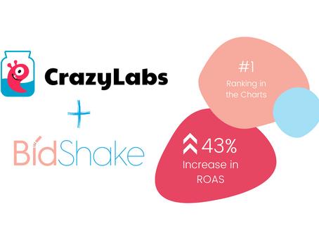 How CrazyLabs ROAS Soared 43% Higher