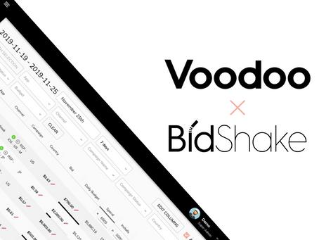 BidShake Is Now Part of Voodoo