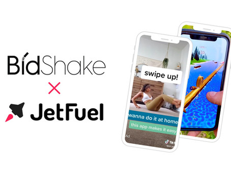 Bidshake & JetFuel Partner to Automate Direct Response Influencer Marketing for Mobile Apps
