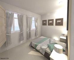 Kershaw St Bedroom 2 Visual