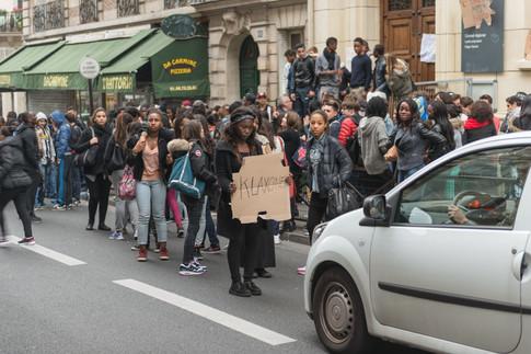 Демонстрация в колледже 2