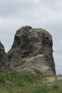 Исландия. Застывший мамонтенок