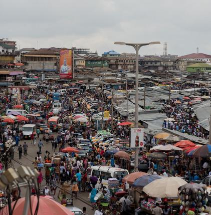 Самый большой рынок в центральной Африке