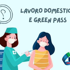 FAQ GREEN PASS E LAVORO DOMESTICO