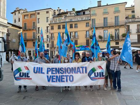 Uilp in piazza a Vicenza per la sicurezza sul lavoro