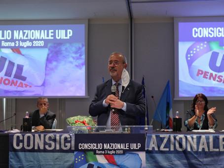 Carmelo Barbagallo è il nuovo segretario nazionale UIL Pensionati