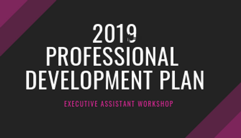 2019 Professional Development Plan Workshop