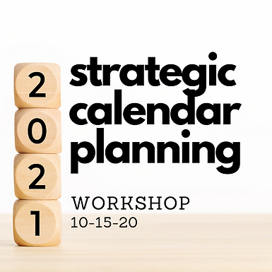 Strategic Planning 2021 Workshop