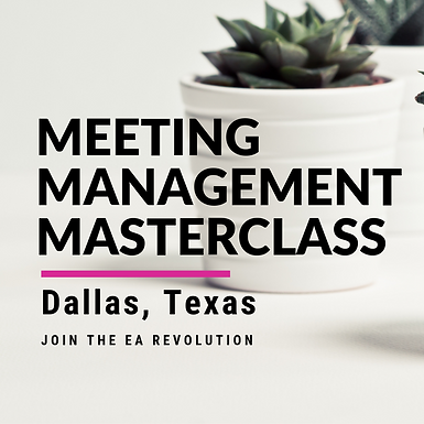 Meeting Management Masterclass Dallas