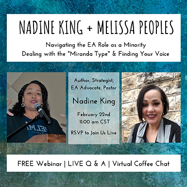LIVE Q&A with Nadine King & Melissa Peoples | Free Webinar