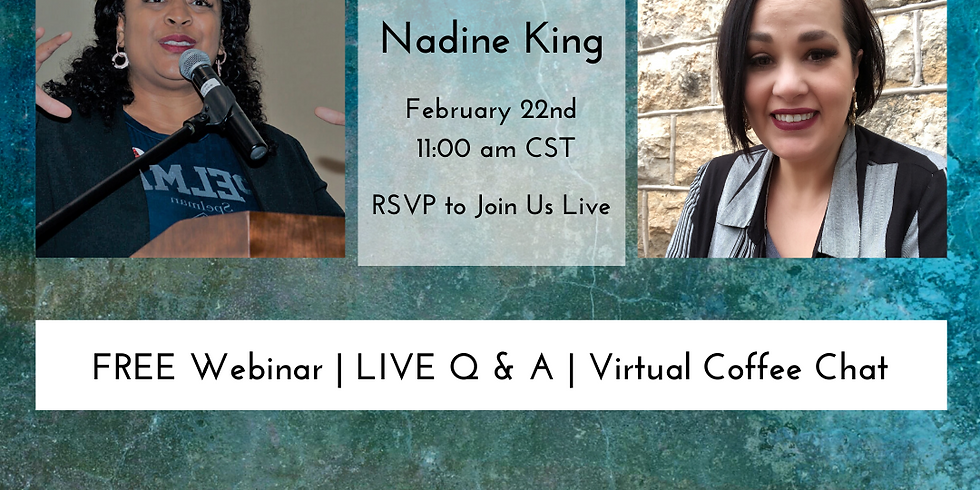 LIVE Q&A with Nadine King & Melissa Peoples   Free Webinar