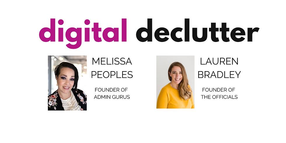 Digital Declutter Workshop