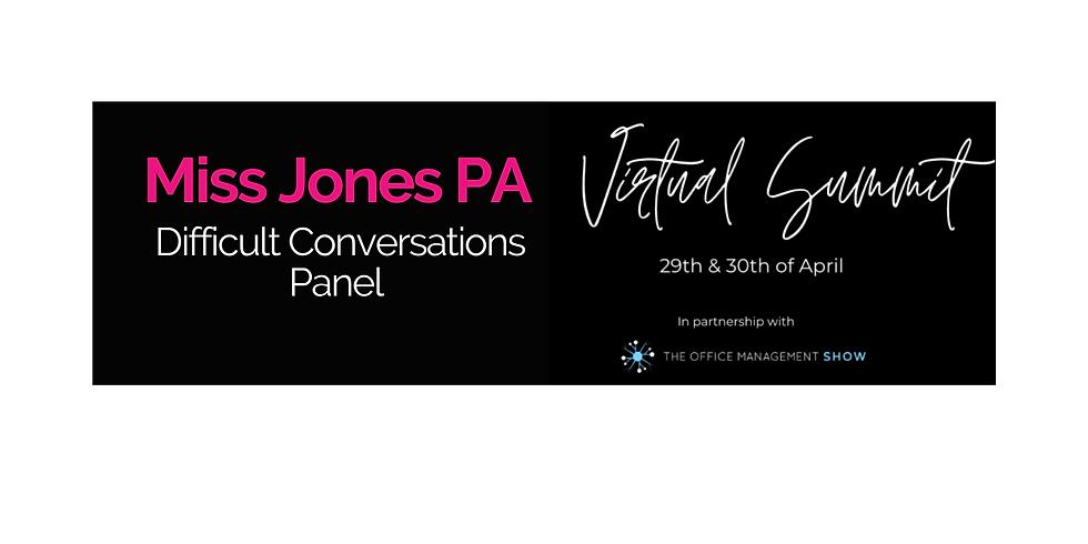 Miss Jones PA Virtual Summit | Difficult Conversation Panel