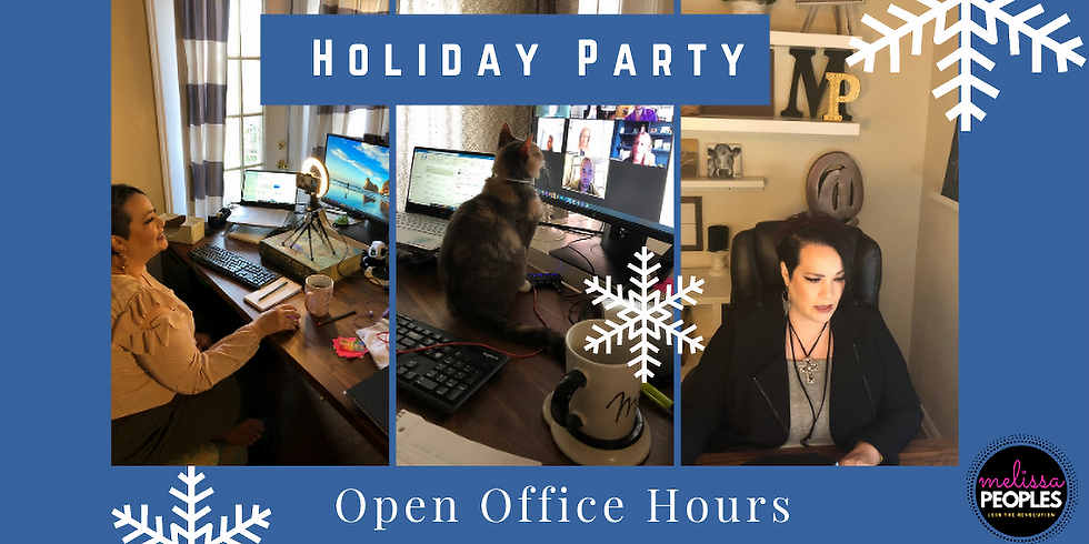Virtual Lunch & Open Office Hours