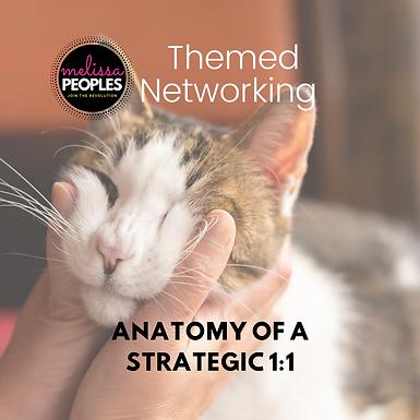 The Anatomy of a Strategic 1:1