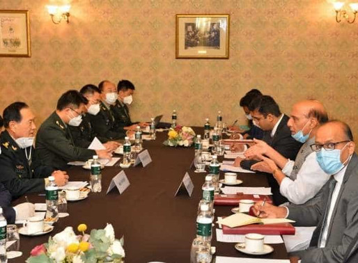 Rajnath Singh meets his Chinese counterpart in Moscow to resolve the four month-long standoff
