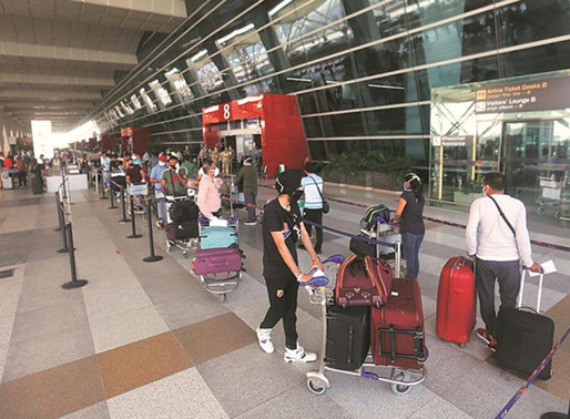 COVID Onset lab for Delhi Airport: A First for India