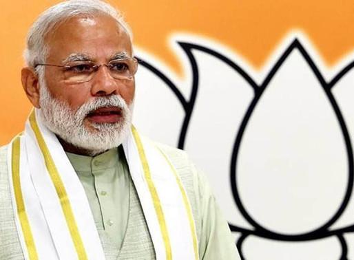 Prime Minister Narendra Modi's twitter handle hacked