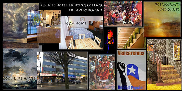 The Refugee Hotel LTG Collage