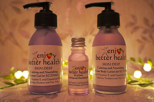 Eczema Care Gift Set - 3 Products
