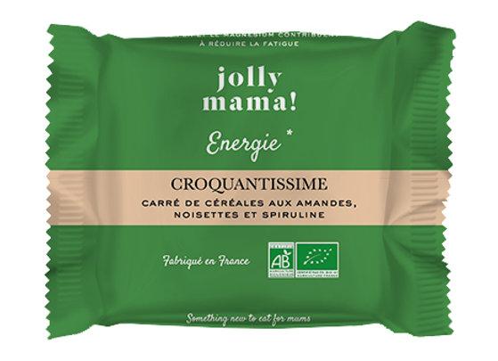 Carré croquantissime aux amandes - Jolly Mama