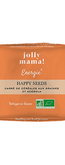 Barres Céréales Happy Seed - Jolly Mama
