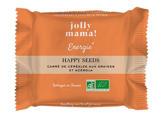 Barres Céréales Happy Seed - Jolly Mama