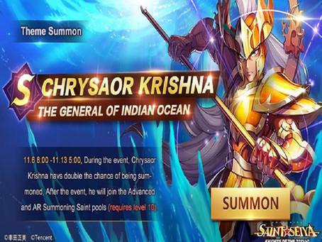 Nouvelle Bannière Chrysaor Krishna !