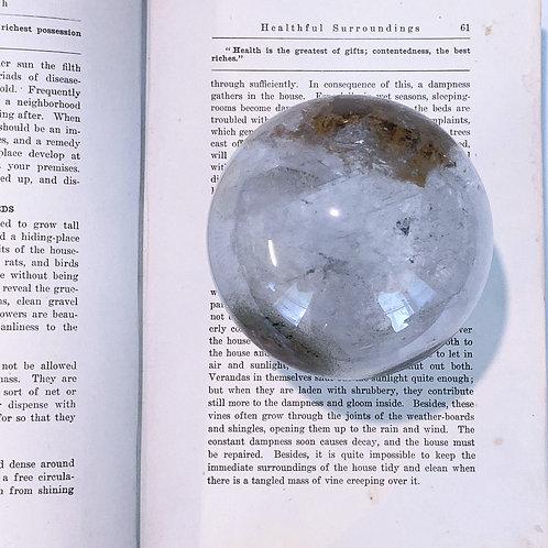 Garden Quartz Sphere | Lodolite