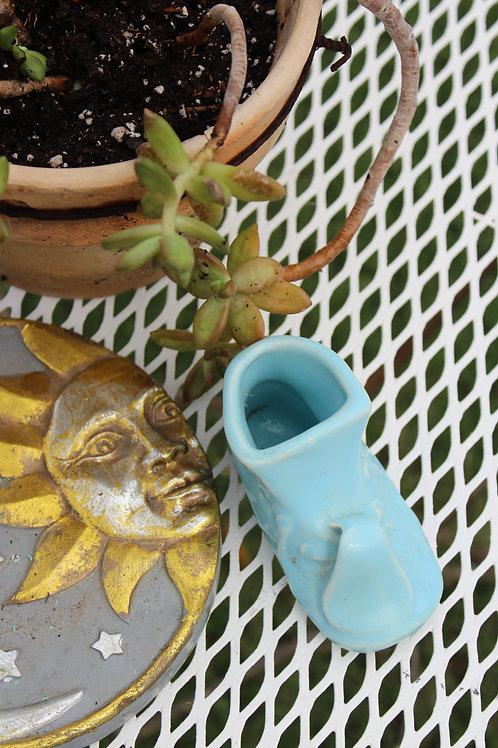 Vintage Ceramic Baby Bootie - Planter